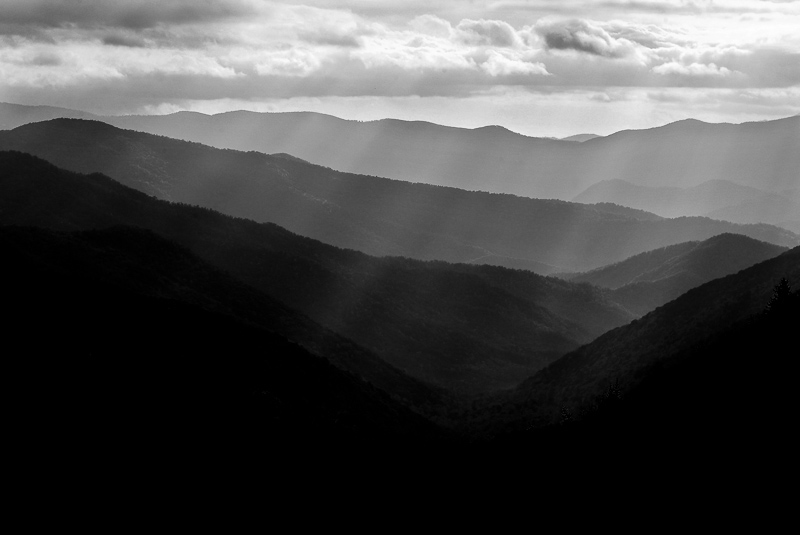 Alternate Black And White Images Smoky Mountain Pictures Eric Gebhart Photography