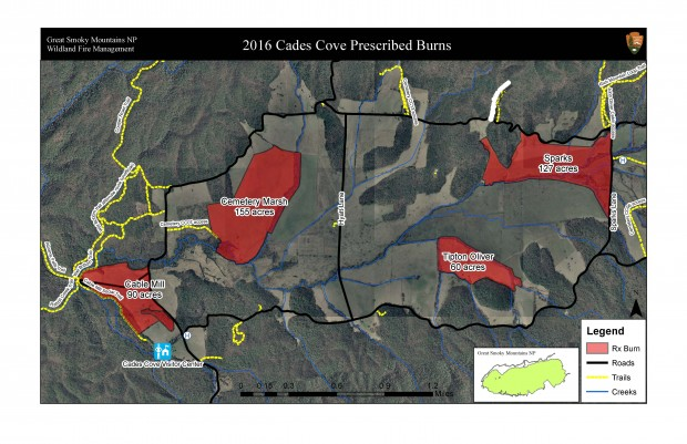 Great Smoky Mountains Controlled burns planned for Cades Cove
